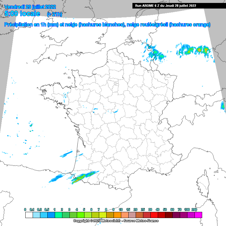 carte coupes wrf