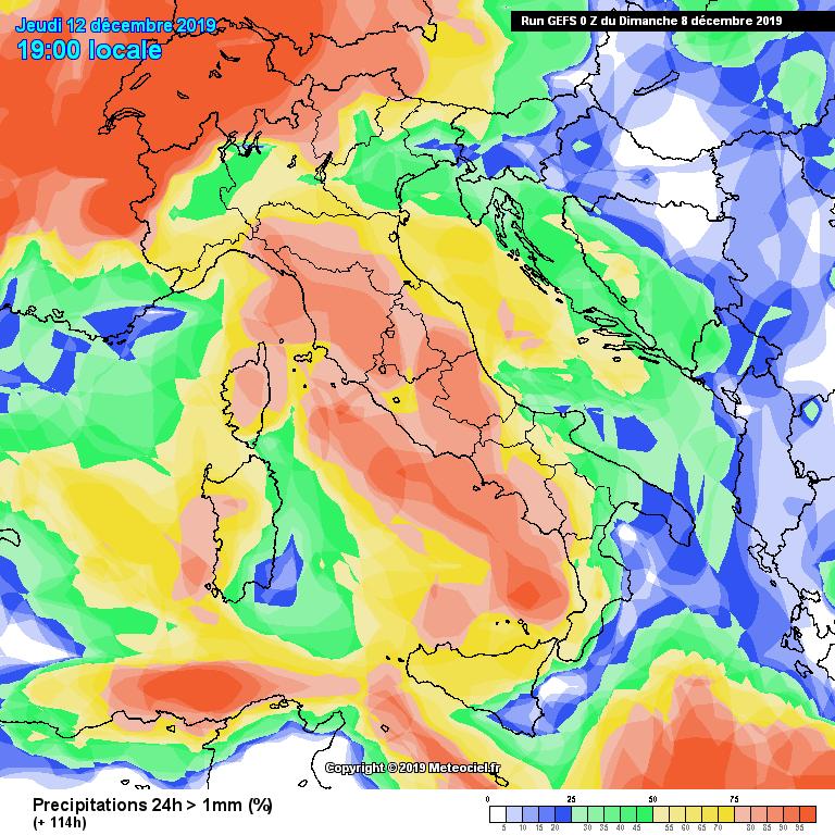 Neve a bassa quota per il Nord Italia?