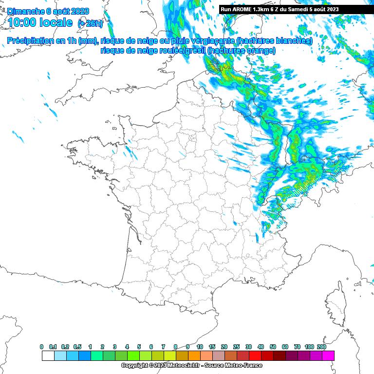 Carte Espagne Hd.Meteociel Modele Numerique Arome Meteo France Pour La France